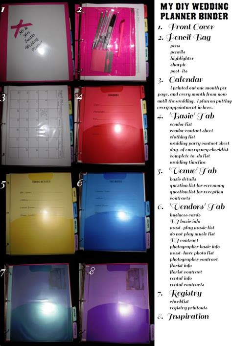 25 best ideas about wedding binder on pinterest wedding
