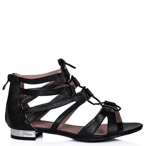 Lace Up Flat Sandals black lace up flat sandals 28 images marc fisher