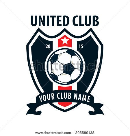 Team Logo Templates by Soccer Team Stock Vectors Vector Clip