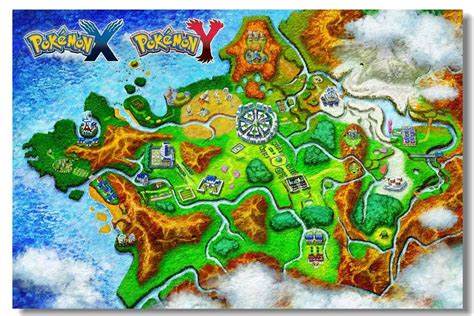 resetting game pokemon y wall sticker game poster pokemon xy x y game home decor