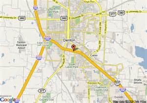 map of 8 motel dallas denton denton