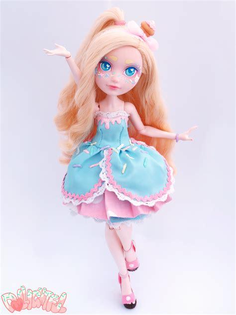 ooak doll tutorial cupcake after high custom repaint ooak doll by