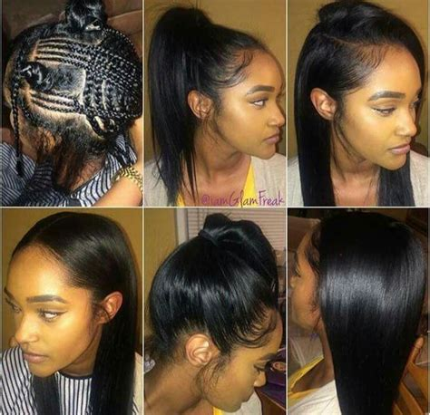 sewins and braid styles versatile sew in braid pattern hair pinterest braid