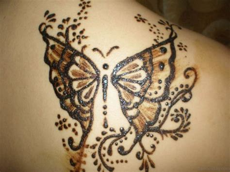 butterfly henna tattoo designs 48 henna designer shoulder tattoos