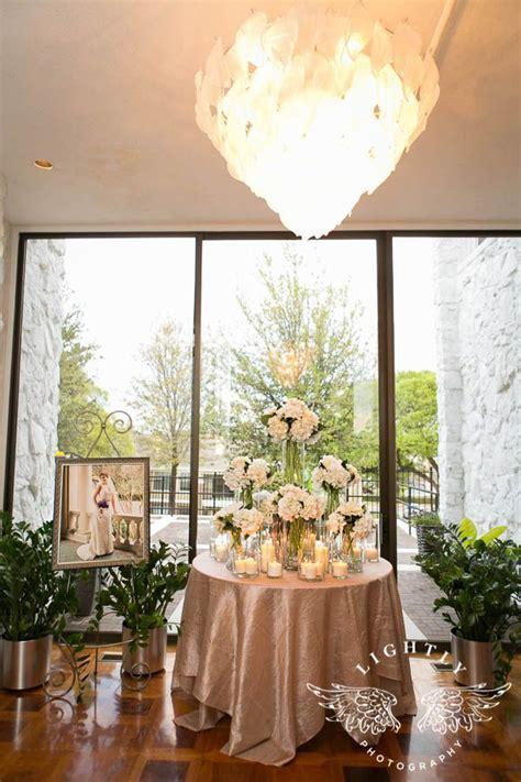 25  best ideas about Wedding Entrance Table on Pinterest