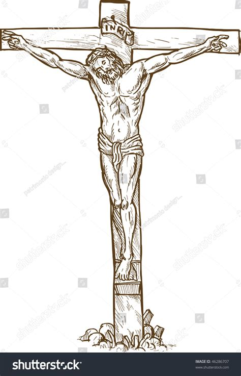 Realistic Drawings Of Jesus On The Cross Drawing Art Ideas Drawing Of Jesus On The Cross 2