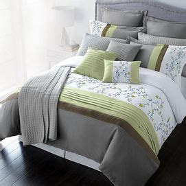 sears comforters canada lifestyle linens tahara 12 piece duvet cover set sears