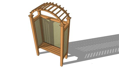 bench arbor plans arbor bench plans free outdoor plans diy shed wooden