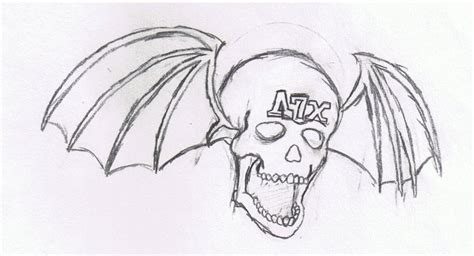 avenged sevenfold drawing by sirlorescar on deviantart