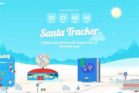 santa tracker s santa tracker counts to