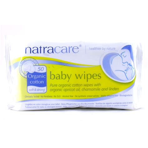 Baby Wipes organic cotton baby wipes from natracare wwsm