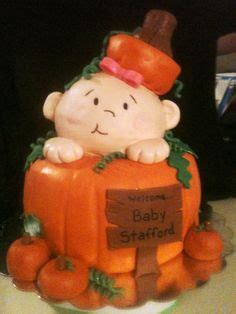 fall baby shower cupcakes white frosting piped   big circle tip cream cheese frosting