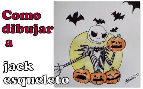 imagenes de jack en halloween como dibujar a jack skeleton how to draw jack