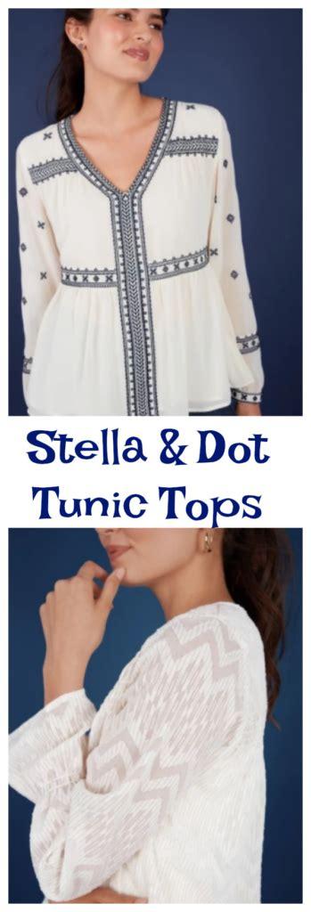Stella Tunik By Enter stella and dot apparel launch jinxy