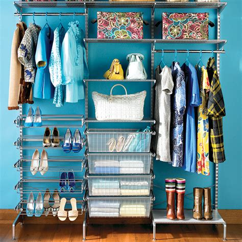 Elfa Freestanding Closet by Platinum Elfa Freestanding Reach In Closet The Container