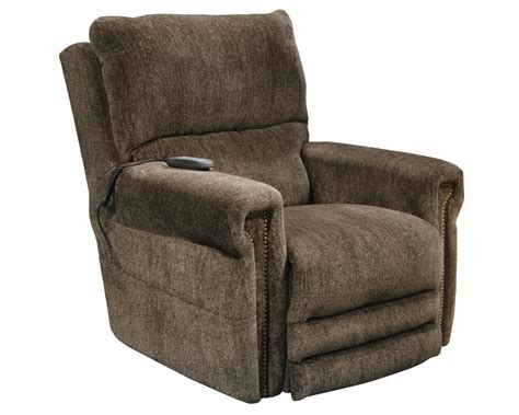 lay back recliner chair catnapper warner power headrest power lumbar power lift