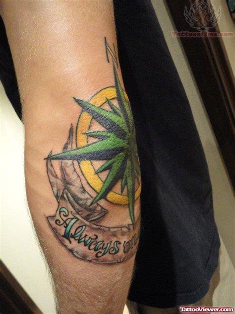 compass tattoo take me home take me home banner and compass with rose thigh tattoos