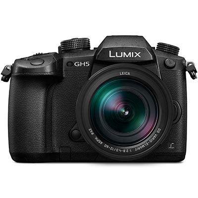 panasonic lumix dmc gh5 digital camera with 12 60mm f2.8 4