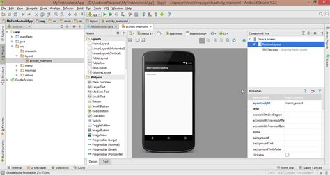 tutorial android studio project android application development tutorial from scratch
