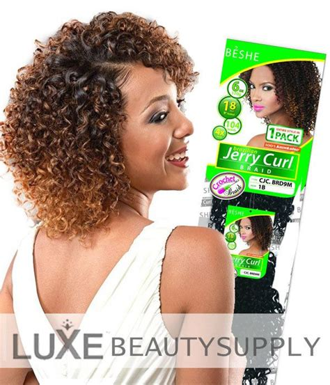 beshe kinky twist beshe jerry curl crochet braiding hair crochet braids