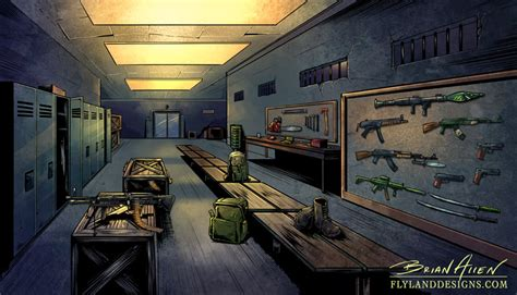 apocalypse room apocalypse backgrounds flyland designs freelance illustration and graphic design