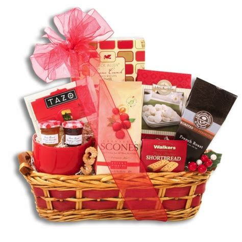 christmas morning breakfast feast gift basket gift baskets