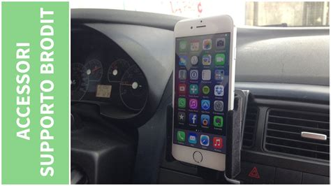 porta iphone da auto supporto da auto brodit per iphone 6 recensione