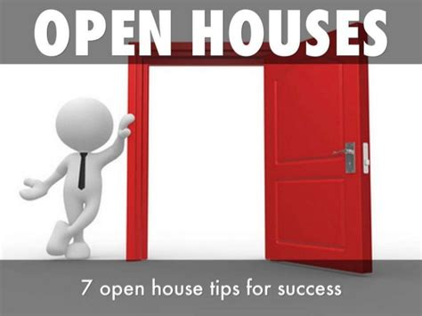 real estate open house tips 7 tips to open house success for real estate sellers