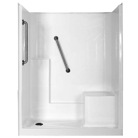 shower kits for bathtubs shop northeastern bath elizabeth low threshold barrier