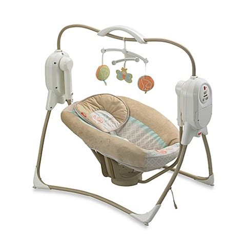 power plus swing fisher price fisher price 174 2014 power plus spacesaver cradle n swing