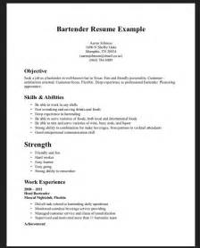 Sample Bartender Resume Examples Apps Directories