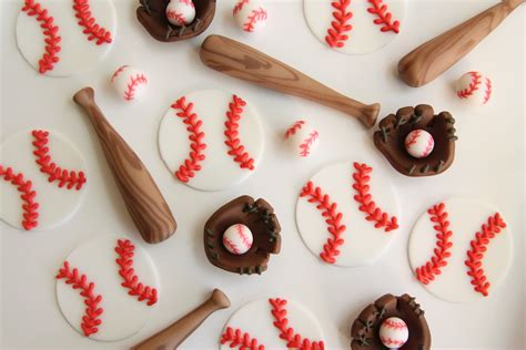 themed cupcake decorations baseball theme cupcake toppers cakes bakes