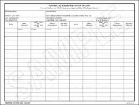 Controlled Log Template by Controlled Substance Inventory Log Template