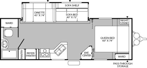 fleetwood terry travel trailer floor plans 2005 fleetwood terry dakota travel trailer rvweb com