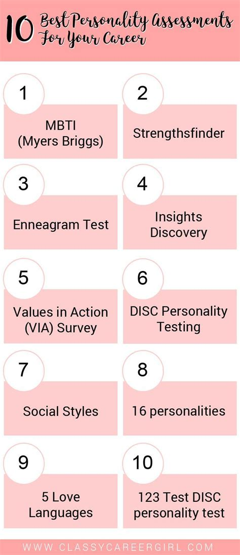 the best personality test best 25 personality assessment ideas on