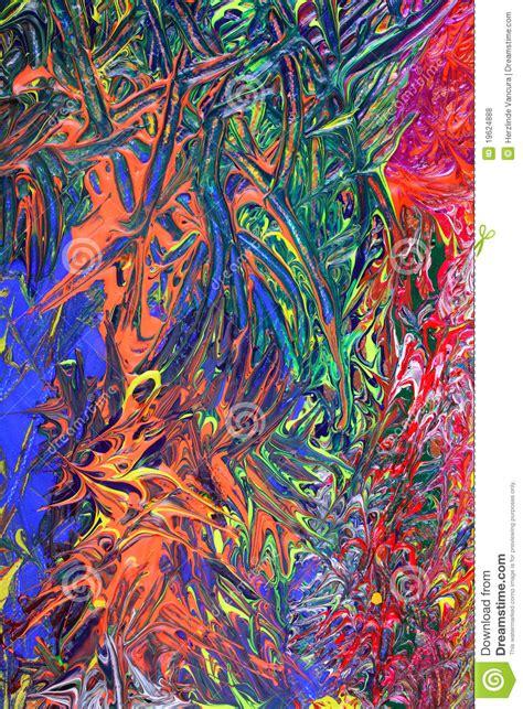imagen de textura abstracta foto gratis pintura abstracta azul y anaranjada foto de archivo