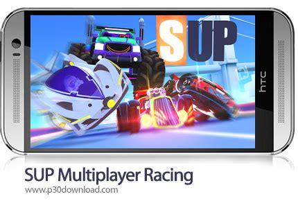 دانلود sup multiplayer racing v1.7.4 + mod بازی موبایل