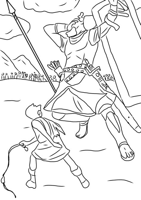 david and goliath coloring pages for toddlers david and goliath coloring pages coloring home