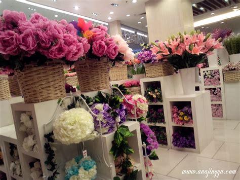 wallpaper jambangan bunga kaison dekorasi hiasan rumah anajingga