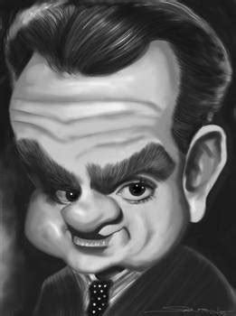 James Cagney Caricature by Nelson Santos