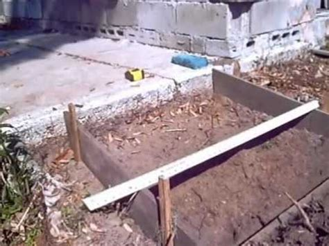 building  small concrete ramp youtube