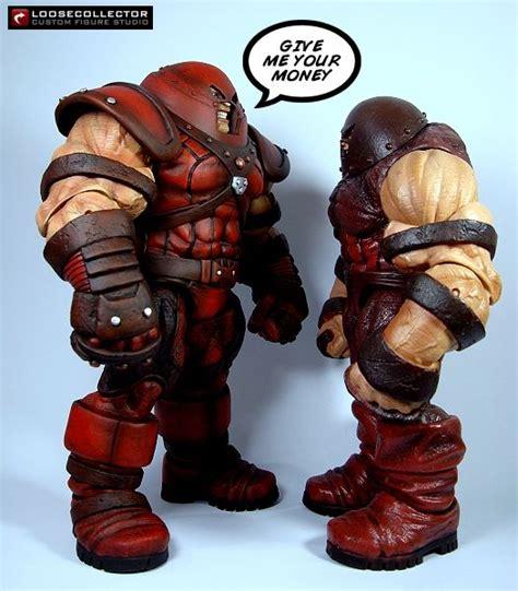 figure base juggernaut ultimate alliance marvel legends custom