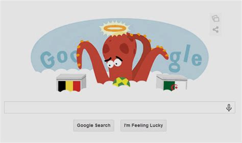 doodle for india 2014 results paul the octopus doodle psychic octopus predicts