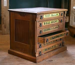 clark cabinet antique clark s six drawer spool cabinet at 1stdibs