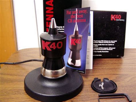 K40 Antenna Roof Mount - k40 trunk lip mount magnetic mount antenna review
