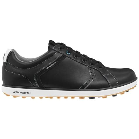 spikeless golf shoes ashworth cardiff 2 adc leather spikeless mens golf shoes