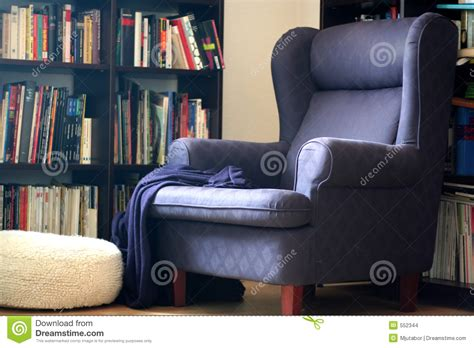 comfy library chairs comfortable arm chair stock images image 552344