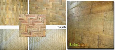 Wainscot Wall Covering Quality Bamboo And Asian Thatch Bamboowallpanel