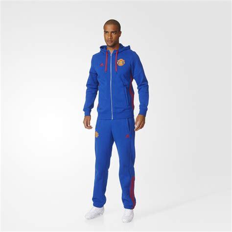 Vest Hoodie Manchester United Fc 3 adidas manchester united fc 3 stripes hoodie collegiate royal real equipment