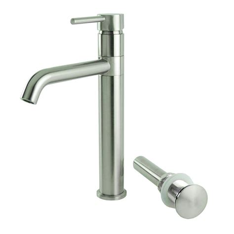 bathroom lavatory vessel sink faucet swivel one hole lsh single hole single handle swivel arm euro vessel